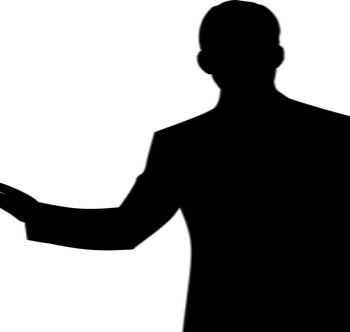 man silhouet