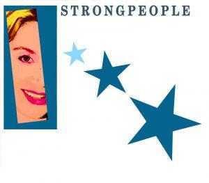 Logo Sanja  Strongpeople